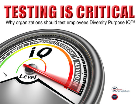 Testing Is Critical