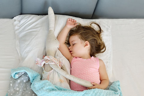 Sleeping beauty. Beautiful girl is weare