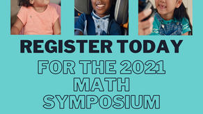 Registration now open for the 2021 Virtual Early Math Symposium!