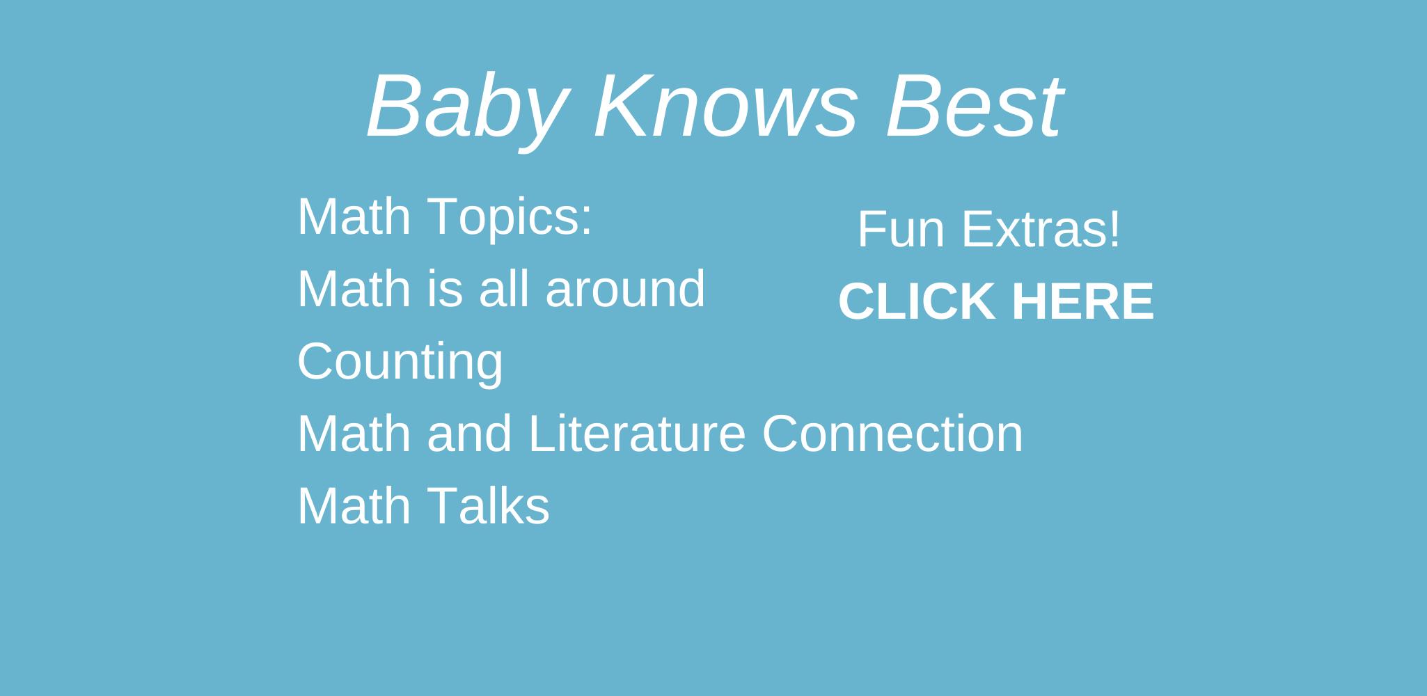 Baby Knows Best Resources