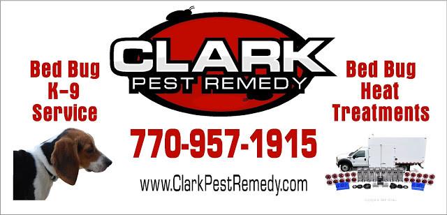 clark pest remedy bed bug banner
