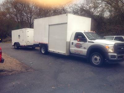 Bed bug heat treatment truck