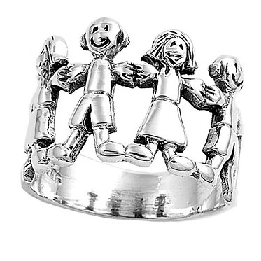 Silver Children's Advocacy Ring