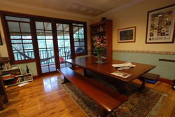 Jarrah Dining Table and bench seats