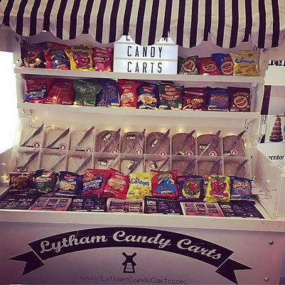 Crisp butty / sandwich cart - Lytham cndy carts