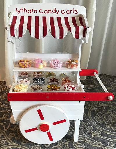 Kids small candy cart - Lytham candy carts