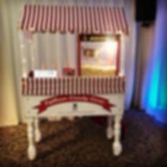 Popcorn cart - Lytham Candy Carts