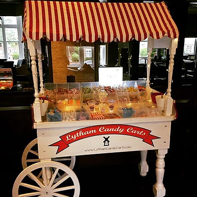 Candy sweet cart - Lytham candy carts
