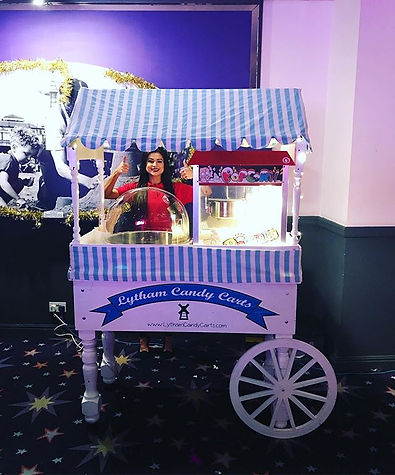 Popcorn & Candy floss cart - Lytham Candy Carts