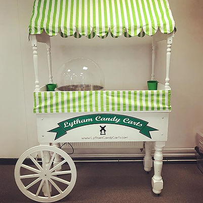 Candy Floss cart - Lytham candy carts
