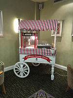 Popcorn and Candy floss cart