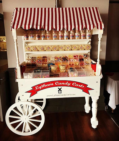 Premium candy sweet cart - Lytham candy carts