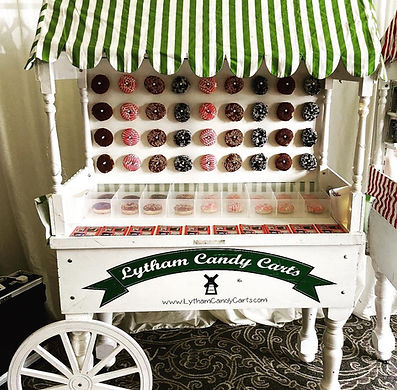 Donut cart - Lytham candy carts