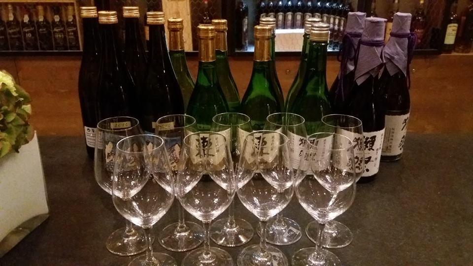 Sakés (vins de riz à 15°)