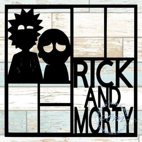 Rick & Morty Scrapbook Overlay