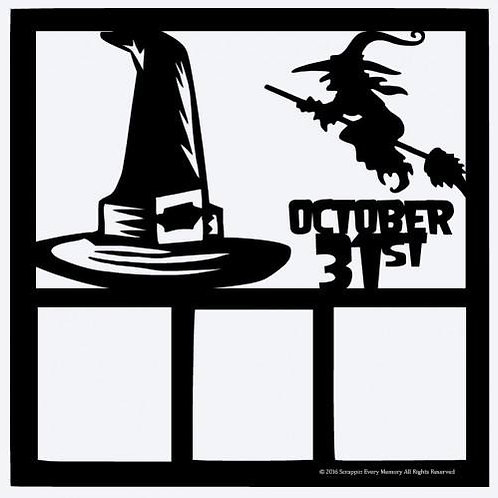 October 31st Scrapbook Overlay