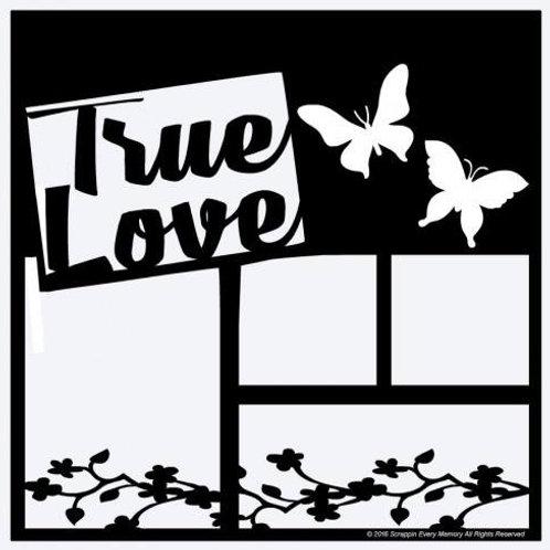 True Love Scrapbook Overlay