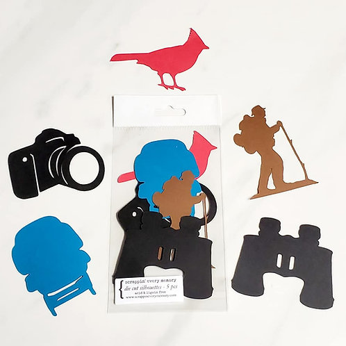Sightseeing Die Cut Silhouette Mini Set