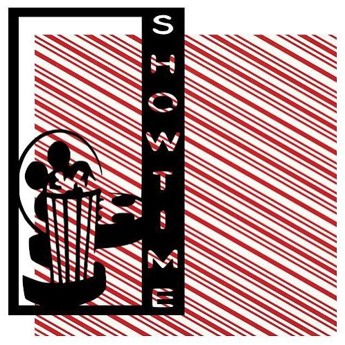 Showtime Vertical Scrapbook Title
