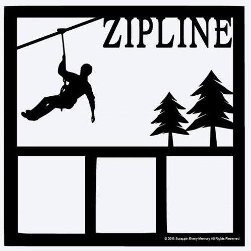Zipline Scrapbook Overlay