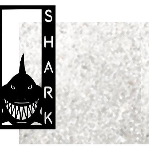 Shark Vertical Scrapbook Title