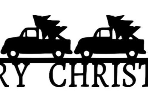 Merry Christmas Scrapbook Border