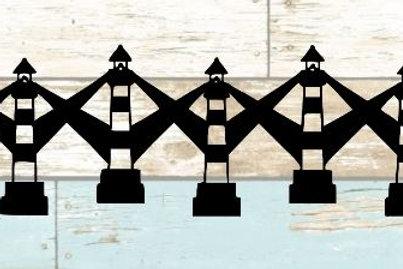 Lighthouses Scrapbook Border