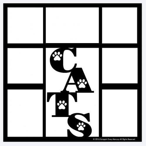Cats Scrapbook Overlay
