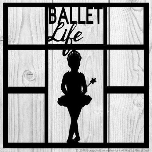 Ballet Life Scrapbook Overlay