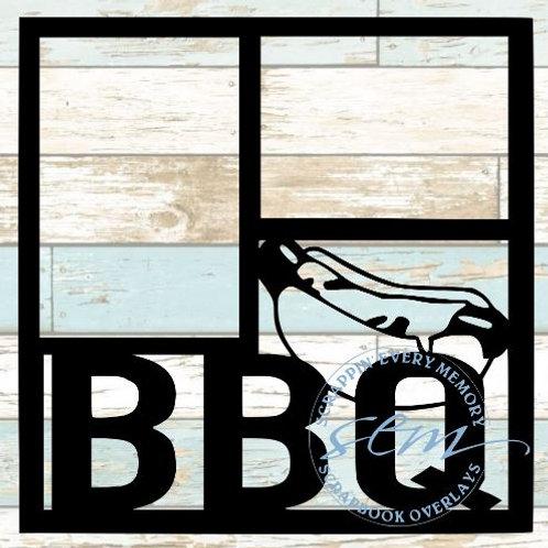 BBQ Scrapbook Overlay