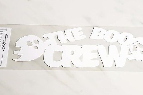 The Boo Crew Scrapbook Deluxe Die Cut