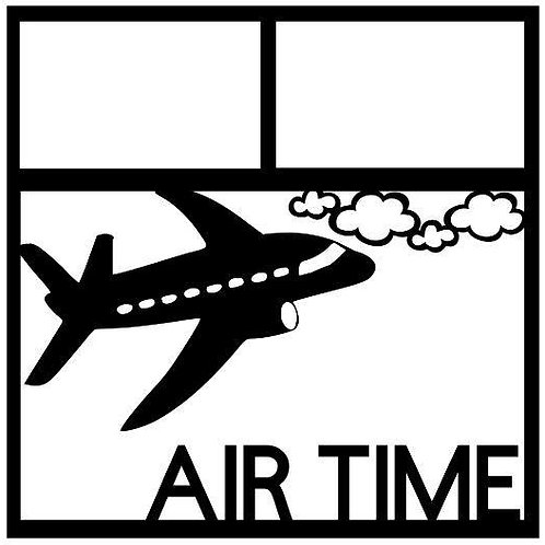 Air Time Scrapbook Overlay