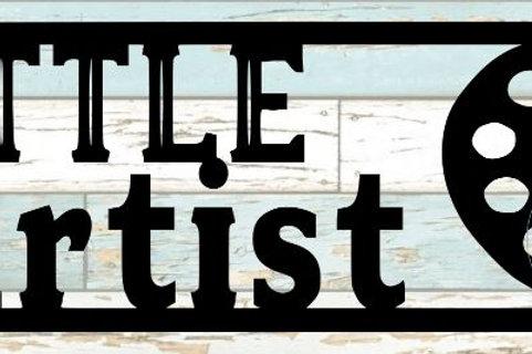 Little Artist Scrapbook Title