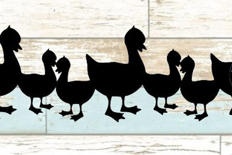 Goose Scrapbook Border