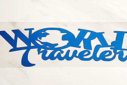 World Traveler Scrapbook Deluxe Die Cut