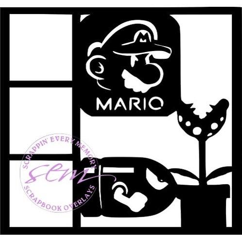 Mario Scrapbook Overlay