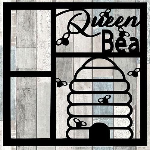 Queen Bea Scrapbook Overlay