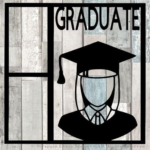 Graduate Scrapbook Overlay