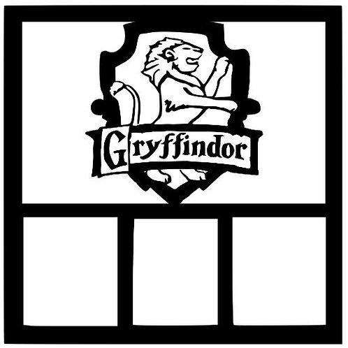 Gryffindor Scrapbook Overlay