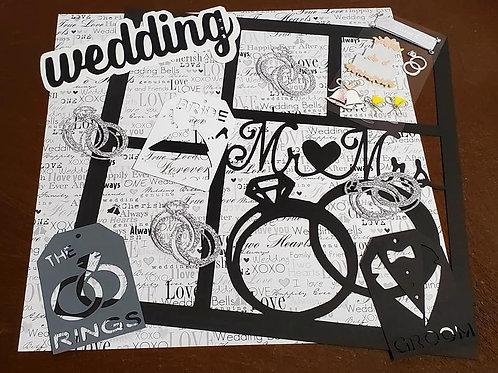 Wedding Scrapbook Page Kits