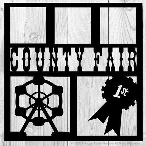 County Fair Scrapbook Overlay