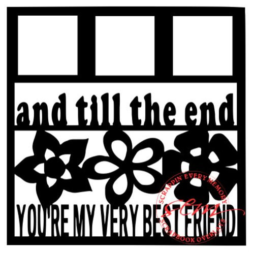And Till The End Scrapbook Overlay