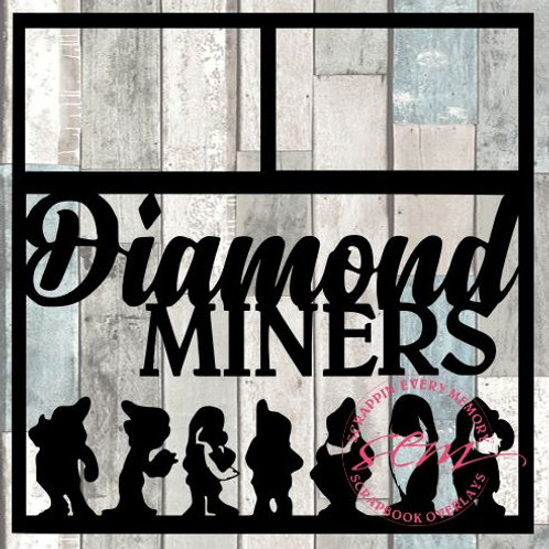 Diamond Miners Scrapbook Overlay
