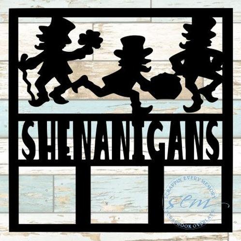 Shenanigans Scrapbook Overlay