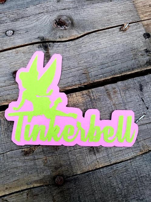 Tinkerbell Paper Piecing Die Cut