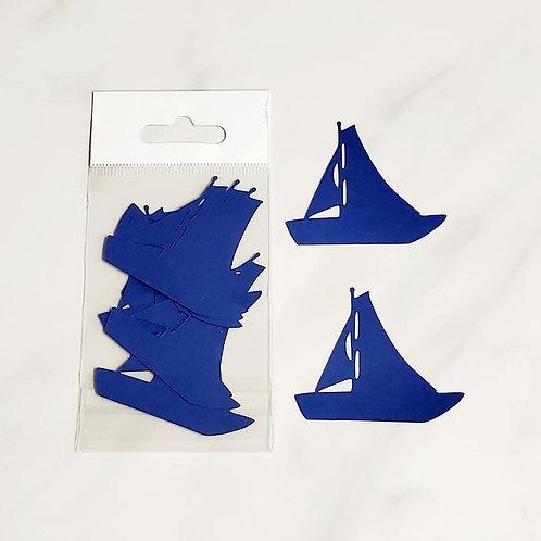 Sailboat Itsy Bitsy Embellishments
