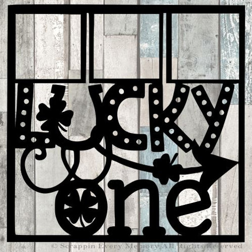 Lucky One Scrapbook Overlay