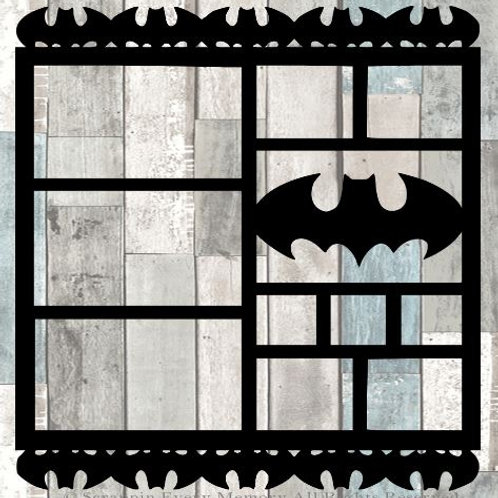Batman Scrapbook Overlay