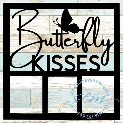 Butterfly Kisses Scrapbook Overlay