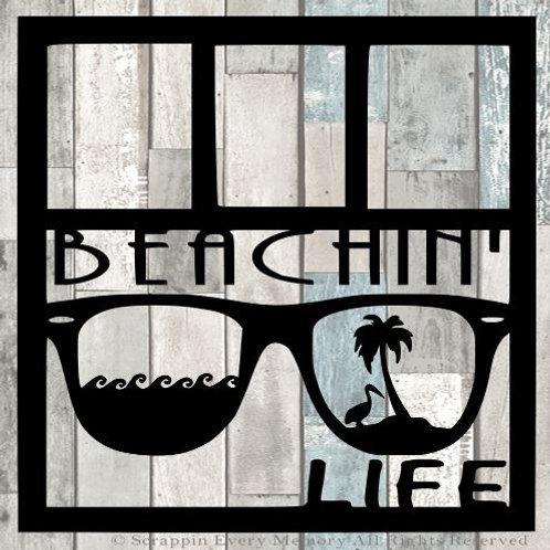 Beachin' Life Scrapbook Overlay